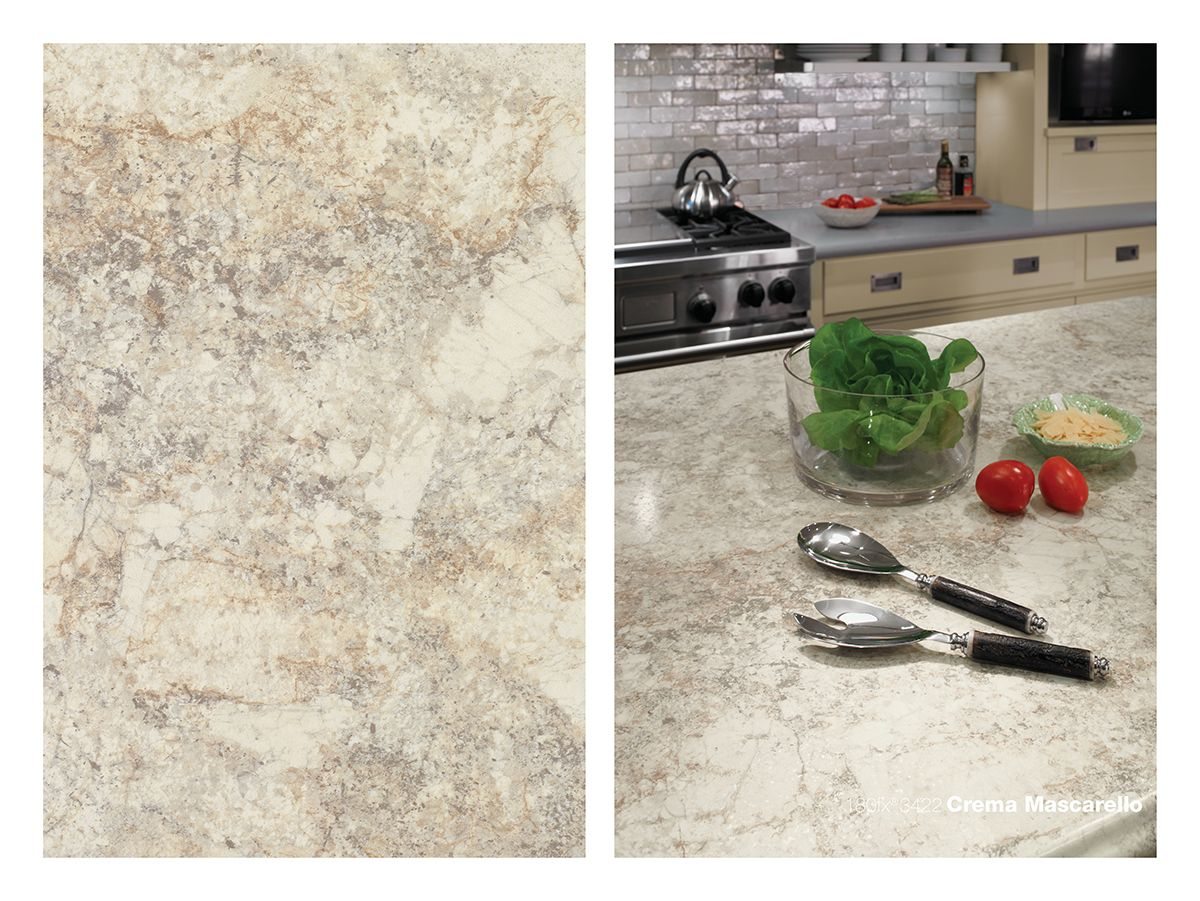 Mascarello Laminate Countertop 180fx Laminate 3422 Crema Mascarello Is A Beautiful
