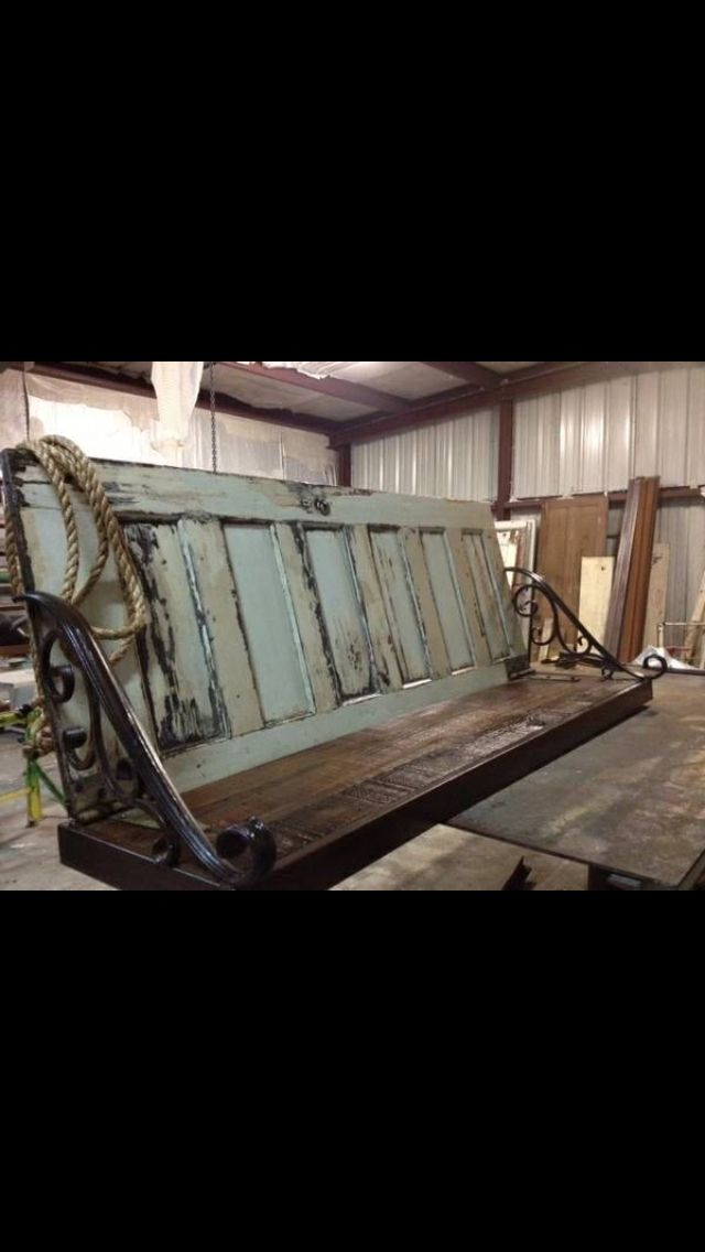 Great Projects Using Old Doors