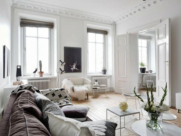 Wohnzimmer Einrichten Altbau wohnzimmer Wohnzimmer Pinterest - schwarz im esszimmer ideen einrichtung