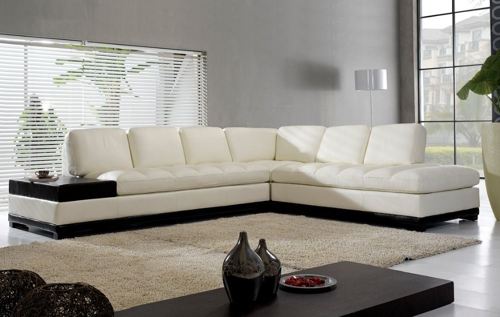 Find More Living Room Sofas Information about High quality living - white leather living room furniture
