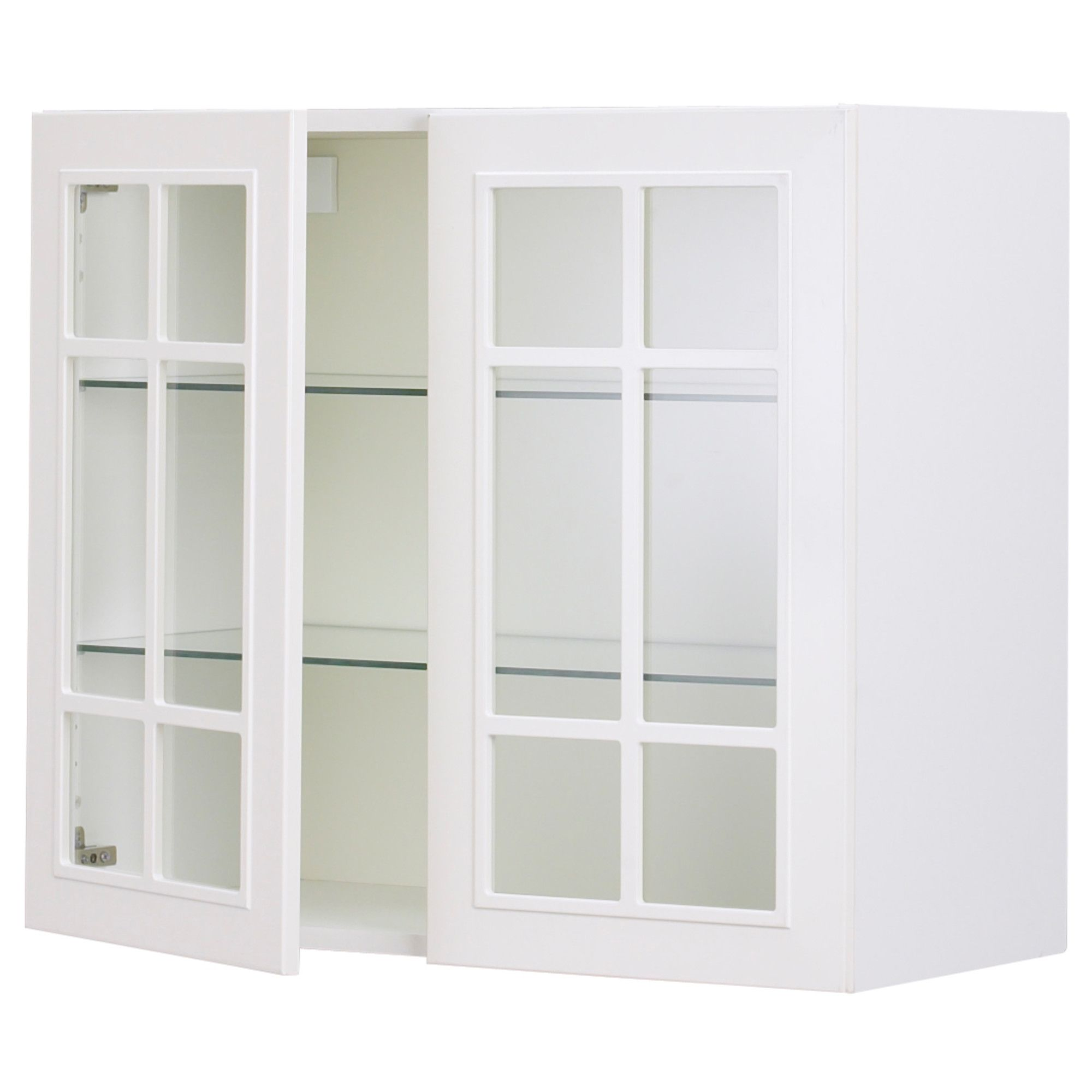 Kitchen Cabinet Front Replacement 215 30 X 30 Glass Front Wall Cabinet Akurum Wall