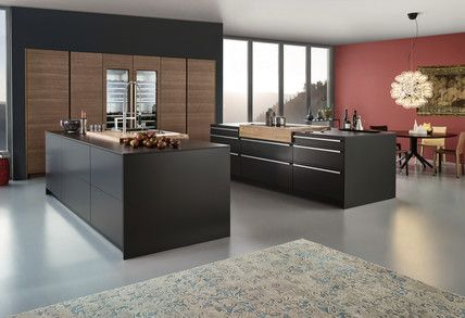 SYNTHIA IOS LARGO LG U203a Schichtstoff U203a Modern Style U203a Küchen   Kleine  Kuche Spannende