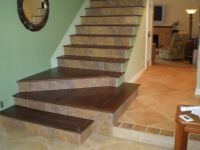 pictures of tile stairs | Tile/Wood Stairs | Craft ...