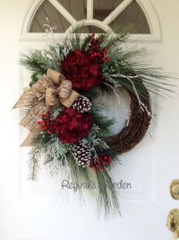 Christmas Wreath-Winter Wreath-Christmas Wreath for Front ...