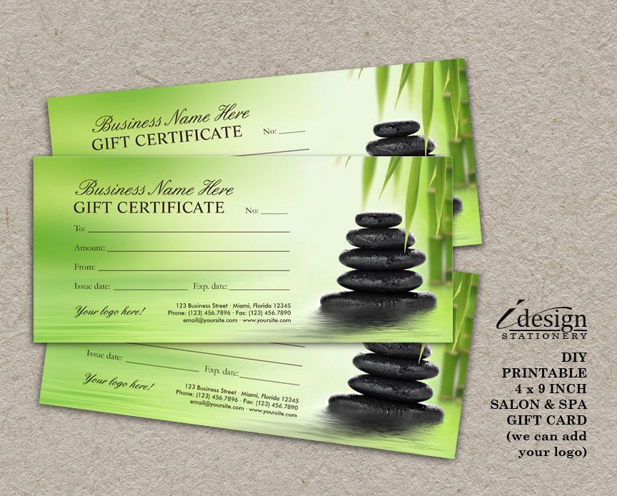 Personalized gift certificates template free 25 best gift salon and spa gift certificates printable massage therapist gift personalized gift certificates template free yelopaper Gallery