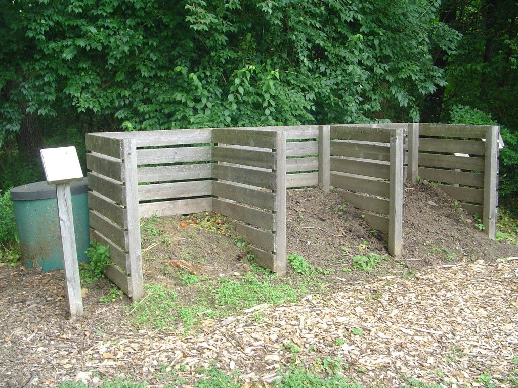 How to make a low cost compost bin for your garden backyard compost piles