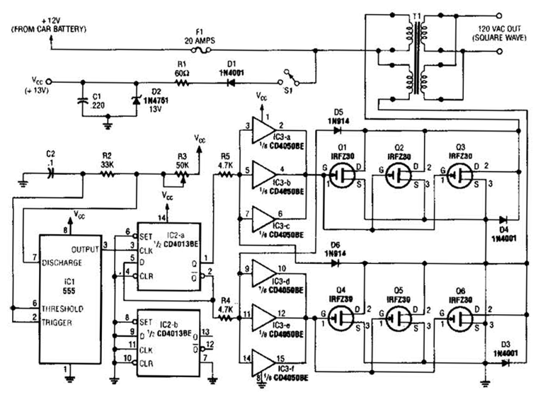 generator with 555 circuit diagram nonstop electronic circuits