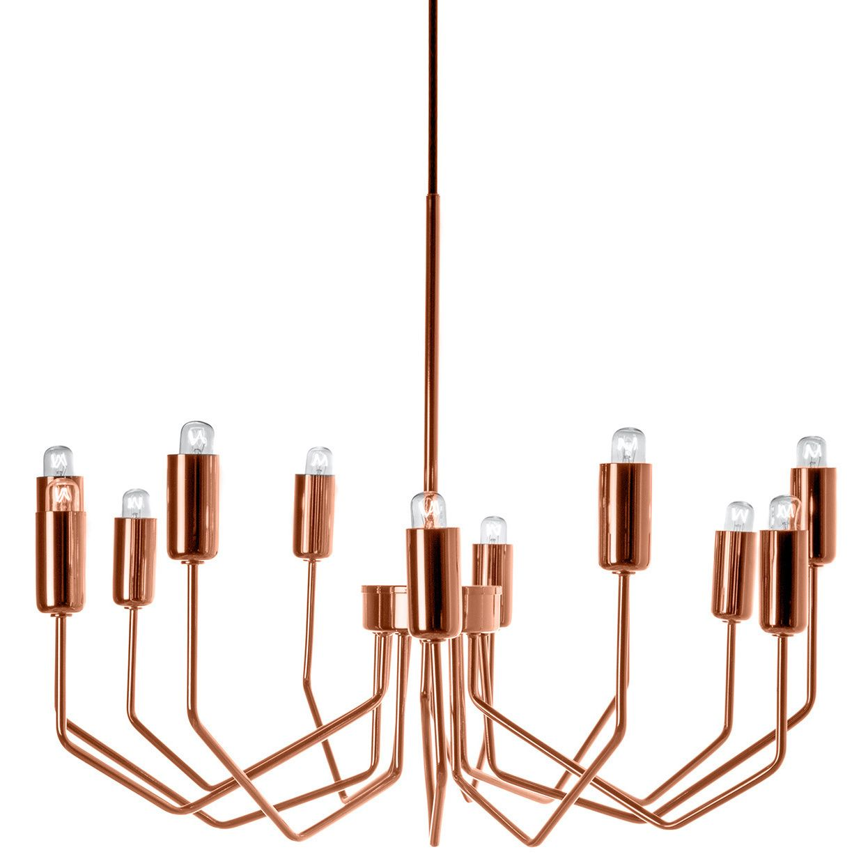 Copper Lighting Pendant Olbia Copper Chandelier Chandeliers Modern And Lights