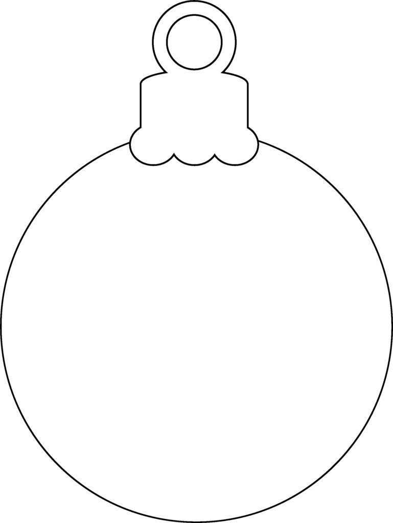28+ Lights Printable Coloring Pages Temasistemi Net | Tree Bulb ...
