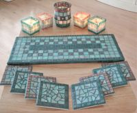 Mosaic tile tray, coasters, candle holders. | My Mosaic ...