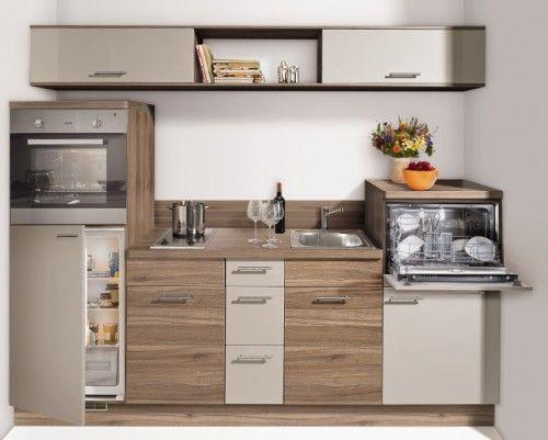 Miniküche Nr 1 - preiswerte Singleküche - kleine Einbauküche - kompaktes minikueche design konzept