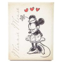 Tan Vintage Minnie Mouse Canvas Wall Art | Canvas walls ...