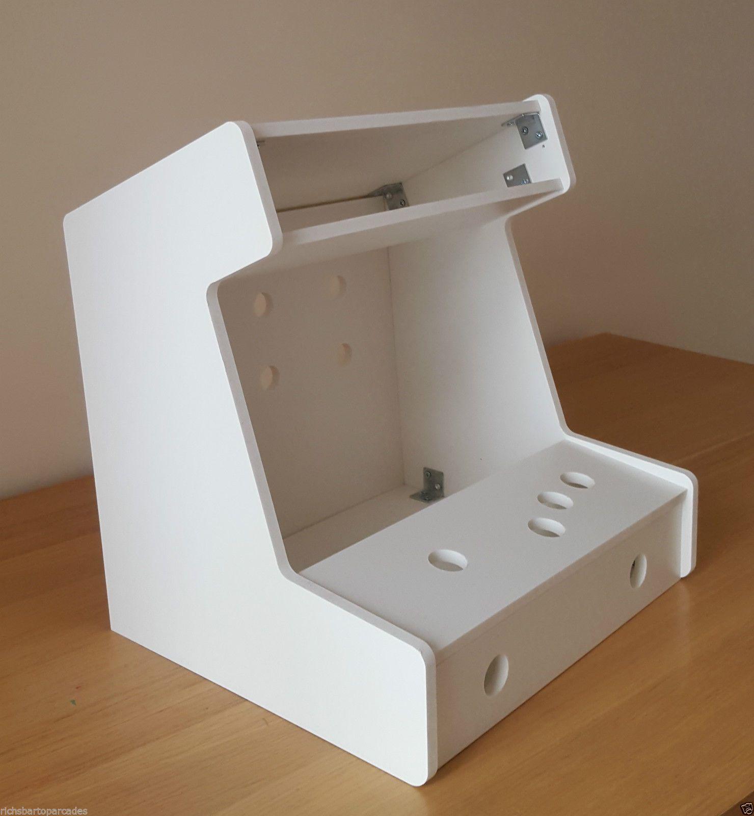 Miniature Mini Bartop Arcade Machine Pvc 1 Player Diy Flat