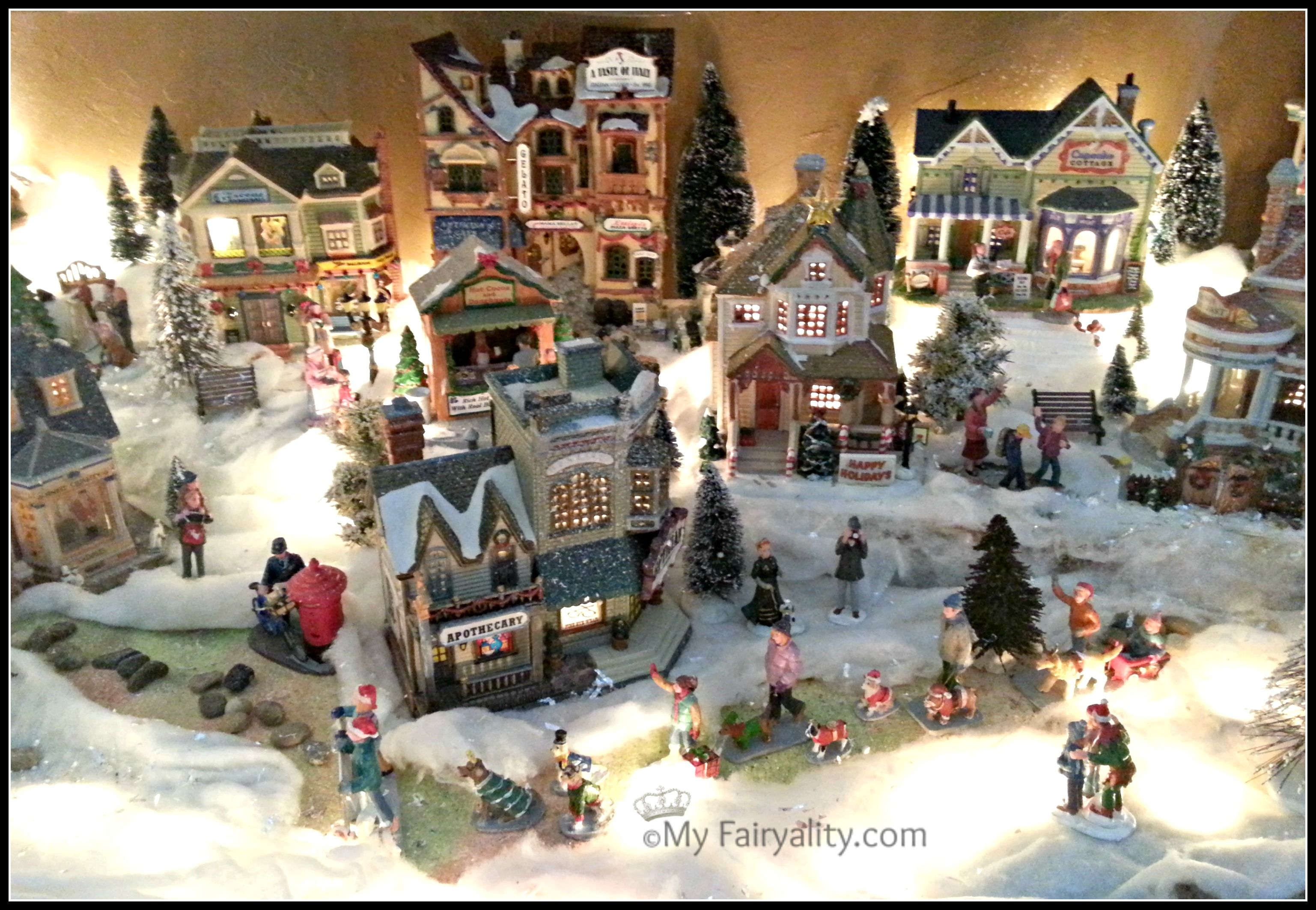 Village De Noel Decoration Christmas Village Christmas Decorating Christmas Decor