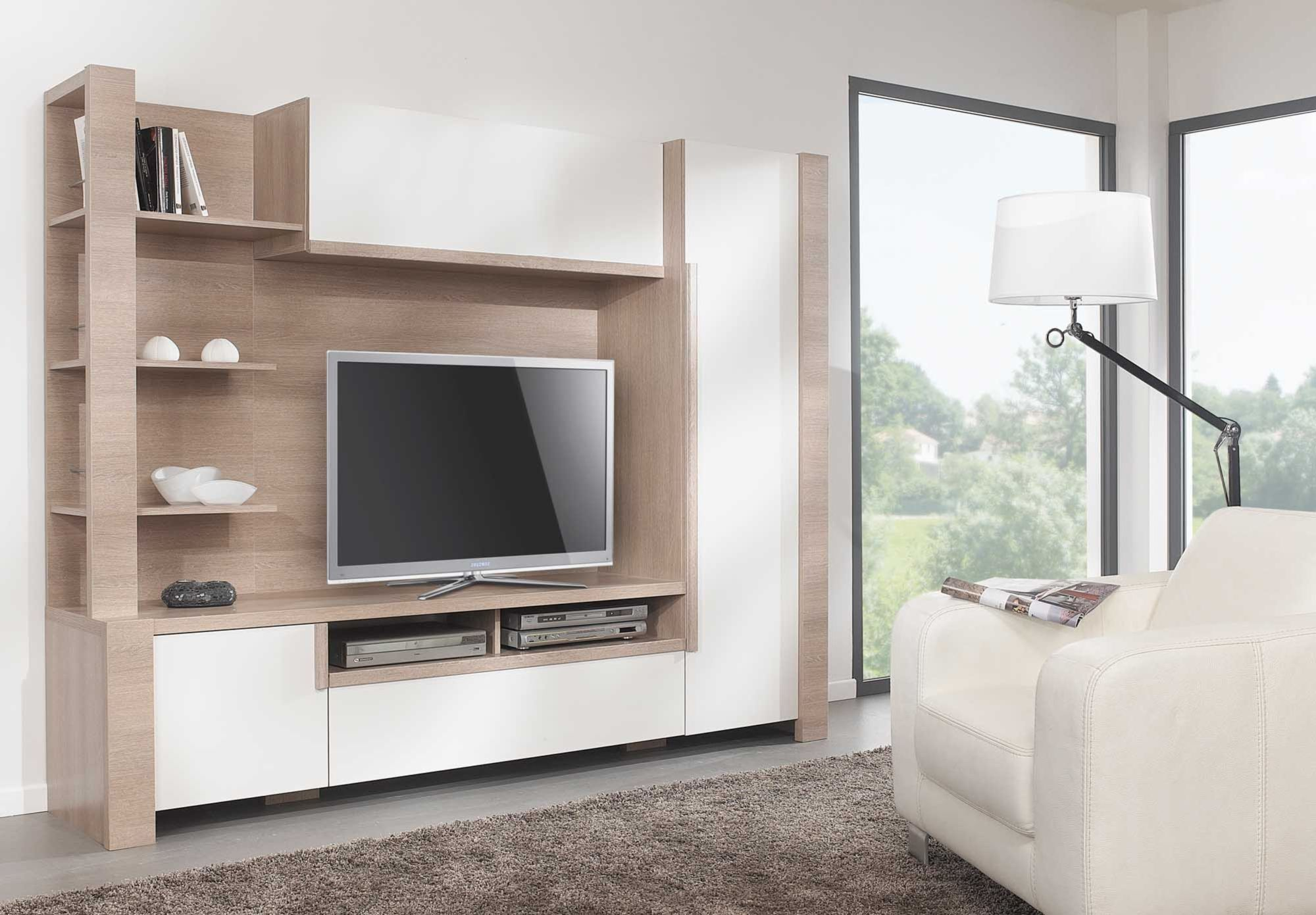 Living Room Cabinets Modular Tv Unit Gautier Lounge Furniture Accessories At