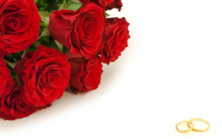 rose wedding ring Engagement Ring And Rose Wallpapers 11
