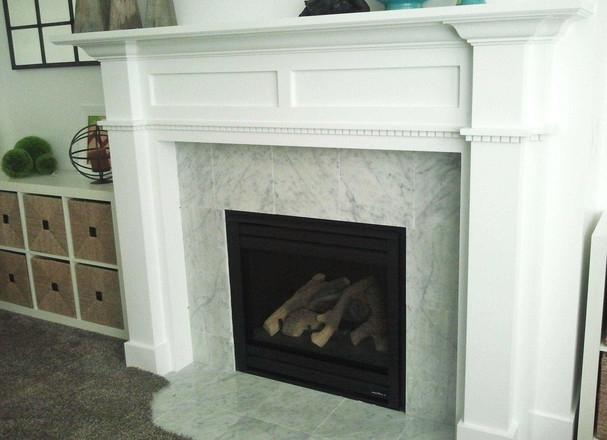 Fireplace Mantel White Accessories And Furniture Enchanting White Painting Custom