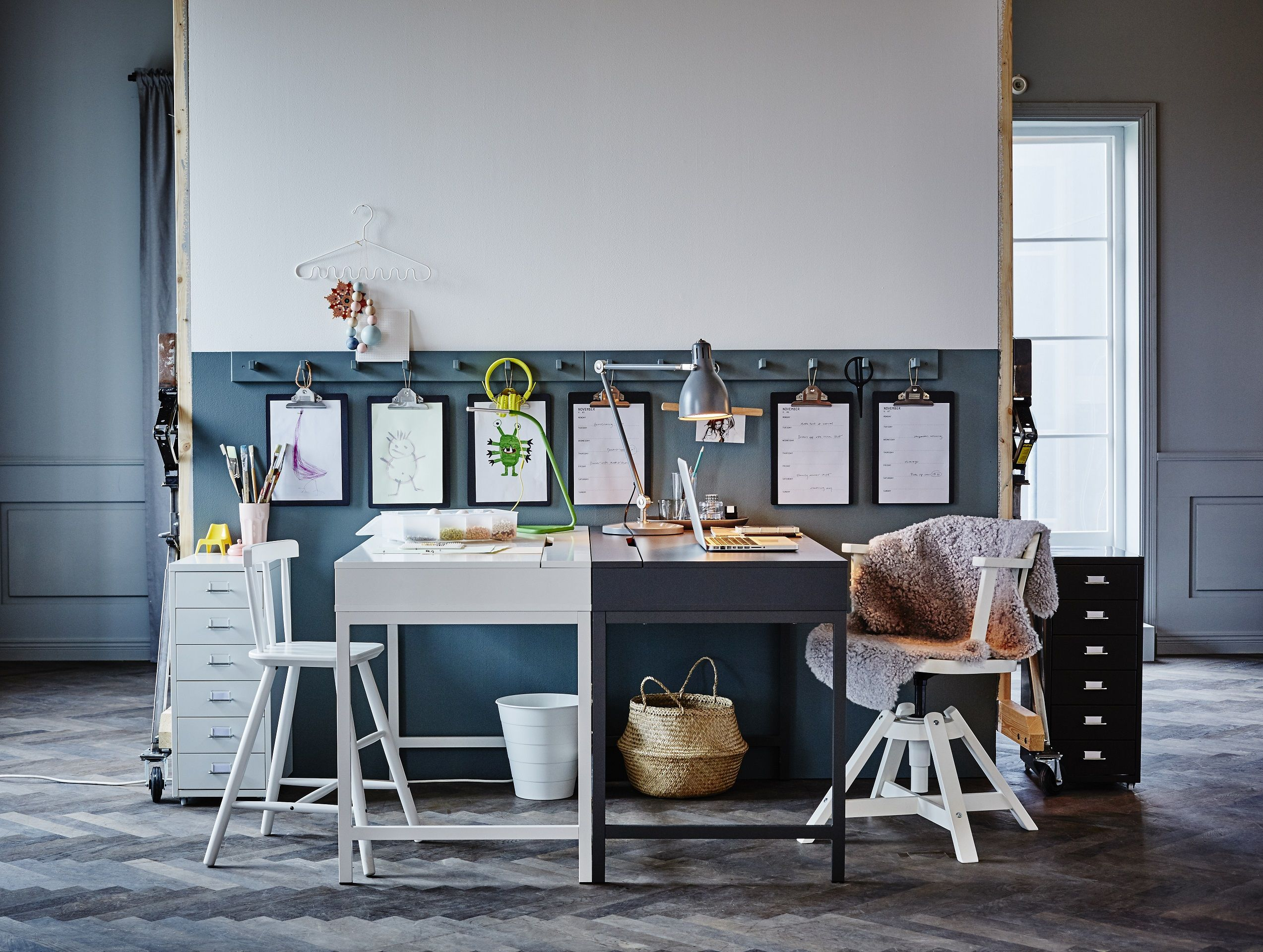 Ikea alex bureau un nouvel espace rien qu à moi le d alex