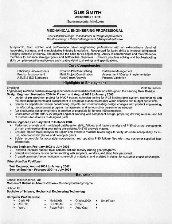military mechanical engineer cover letter | resume-template ...