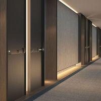 SCDA Hotel Development, Singapore- Guestrooms Corridor ...
