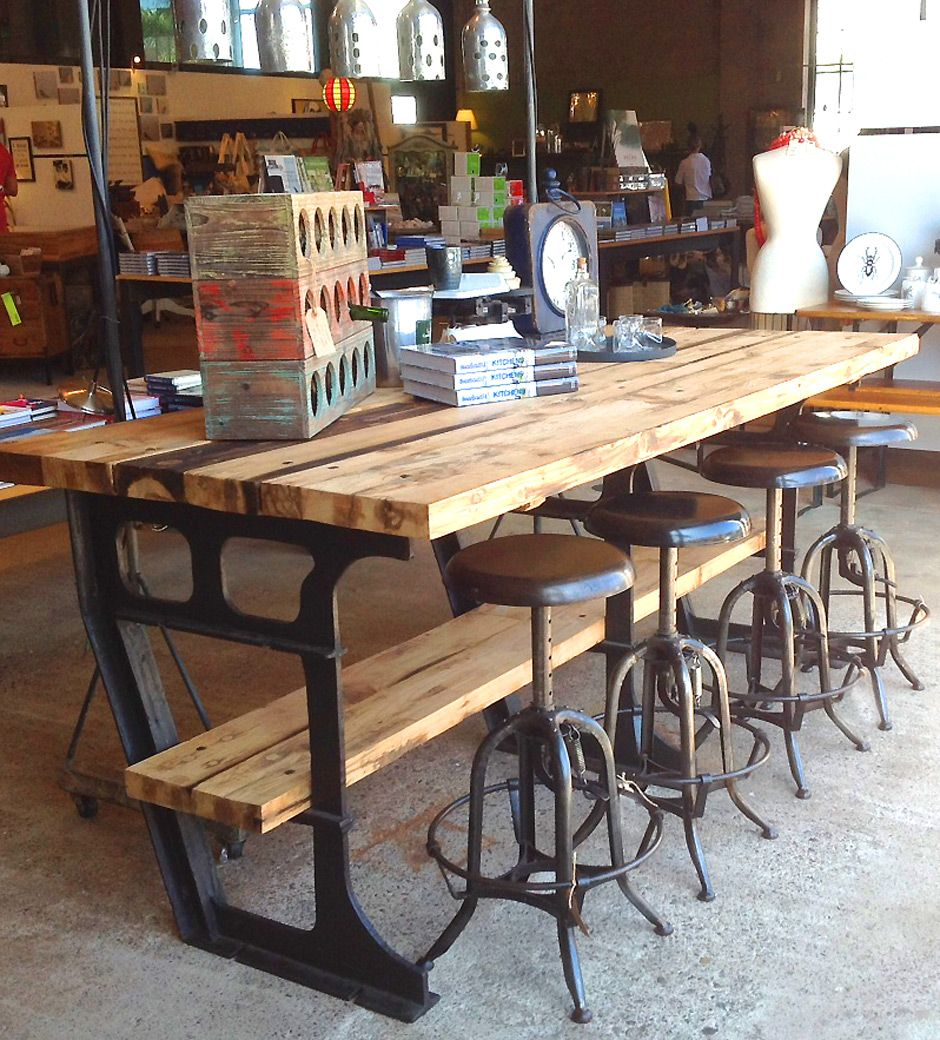 industrial kitchen table vintage metal kitchen tables and chairs iron wood industrial vintage worktable kitchen island studio jennifer