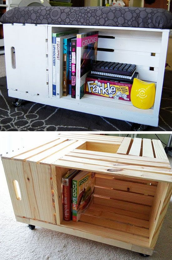 12 Clever Space Saving Ideas for Small Bedrooms Diy storage - small bedroom organization ideas
