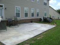 Poured Concrete Patio Ideas   no colors - Patios & Deck ...