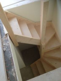 Double kite winder staircases made to measure | Kites ...