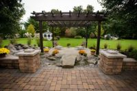 stone walls landscaping | Ideas, Landscaping Pavers Ideas ...