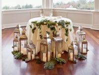 Sweetheart Table Using Lanterns and oversized Succulents ...