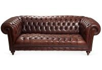 Brown Tufted Leather Sofa   Tufted leather sofa, Leather ...