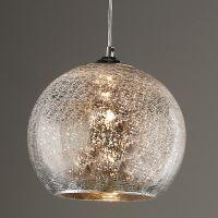 Crackled Mercury Bowl Pendant Light | Pendant lighting ...