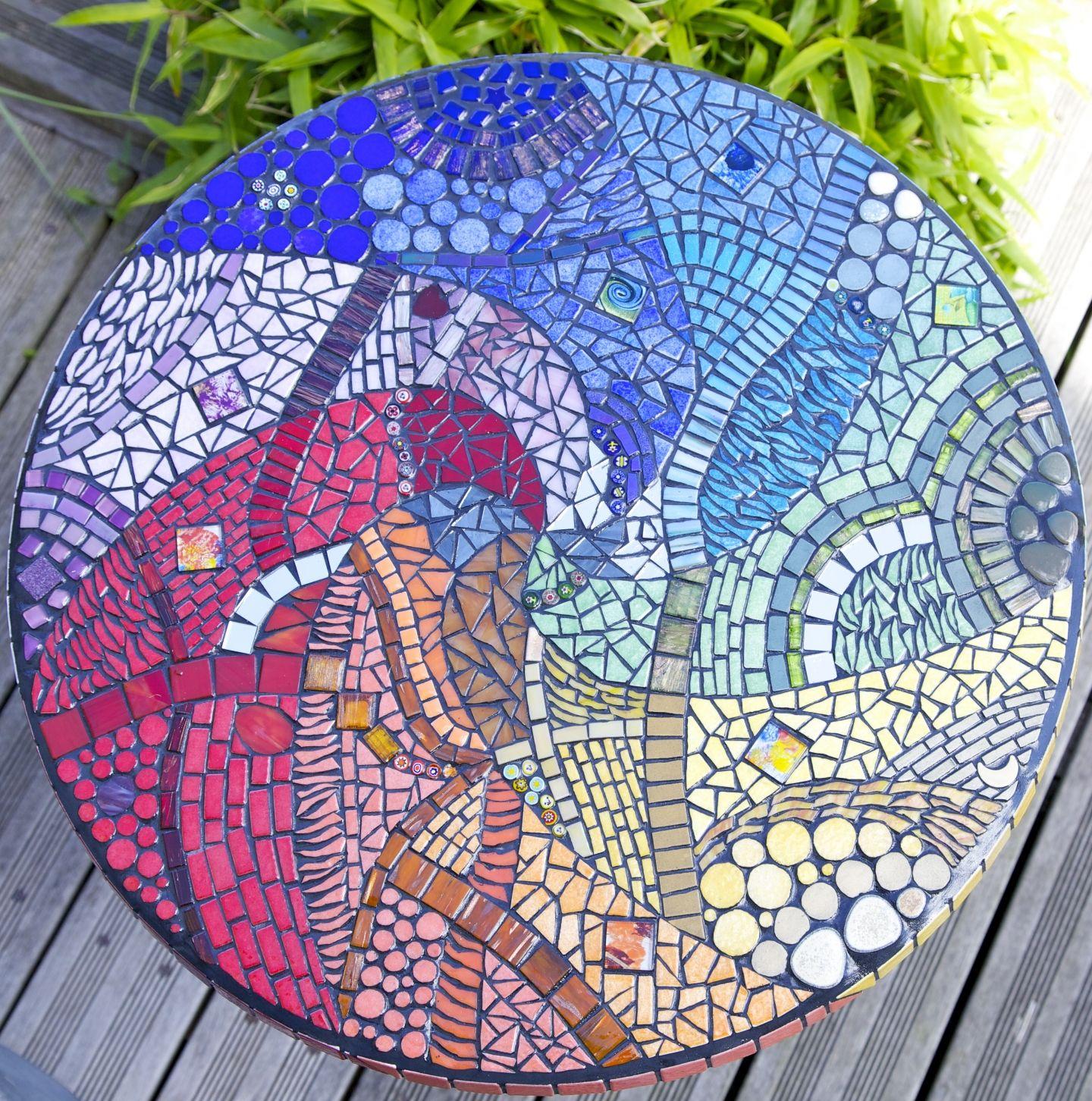 Table De Jardin Colorée   Chaise Pour Le Jardin En Plastique Colorée ...