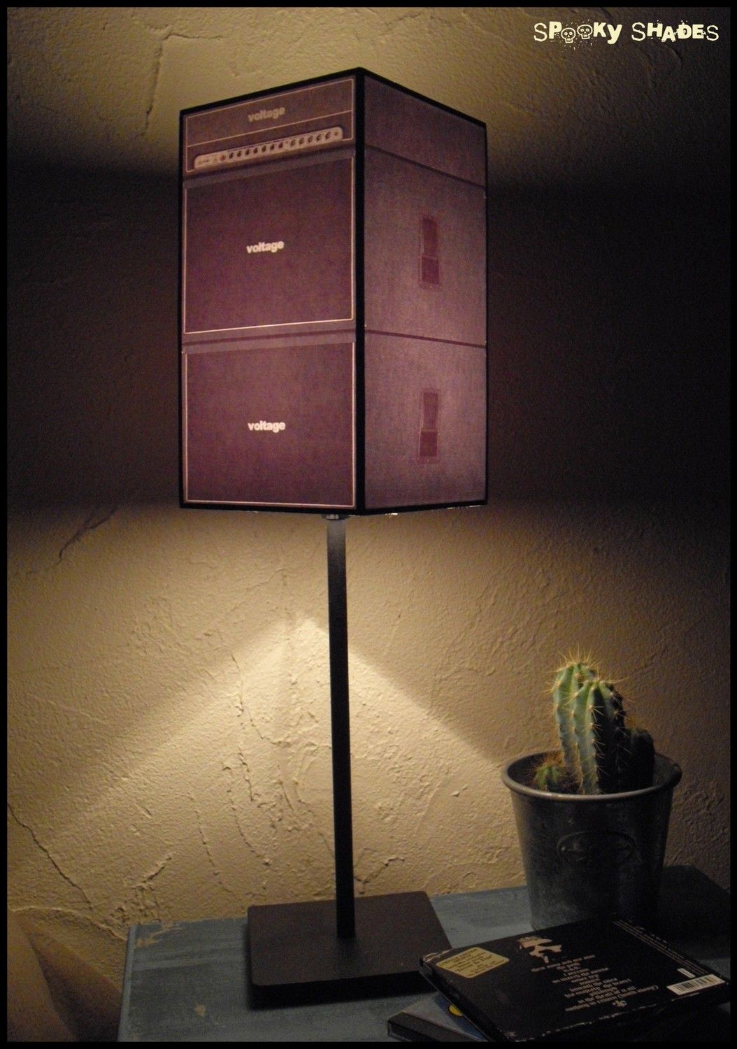 Guitar Decor For Bedroom Guitar Amp Lampshade Lamp Shade Rock N Roll Decor Dorm