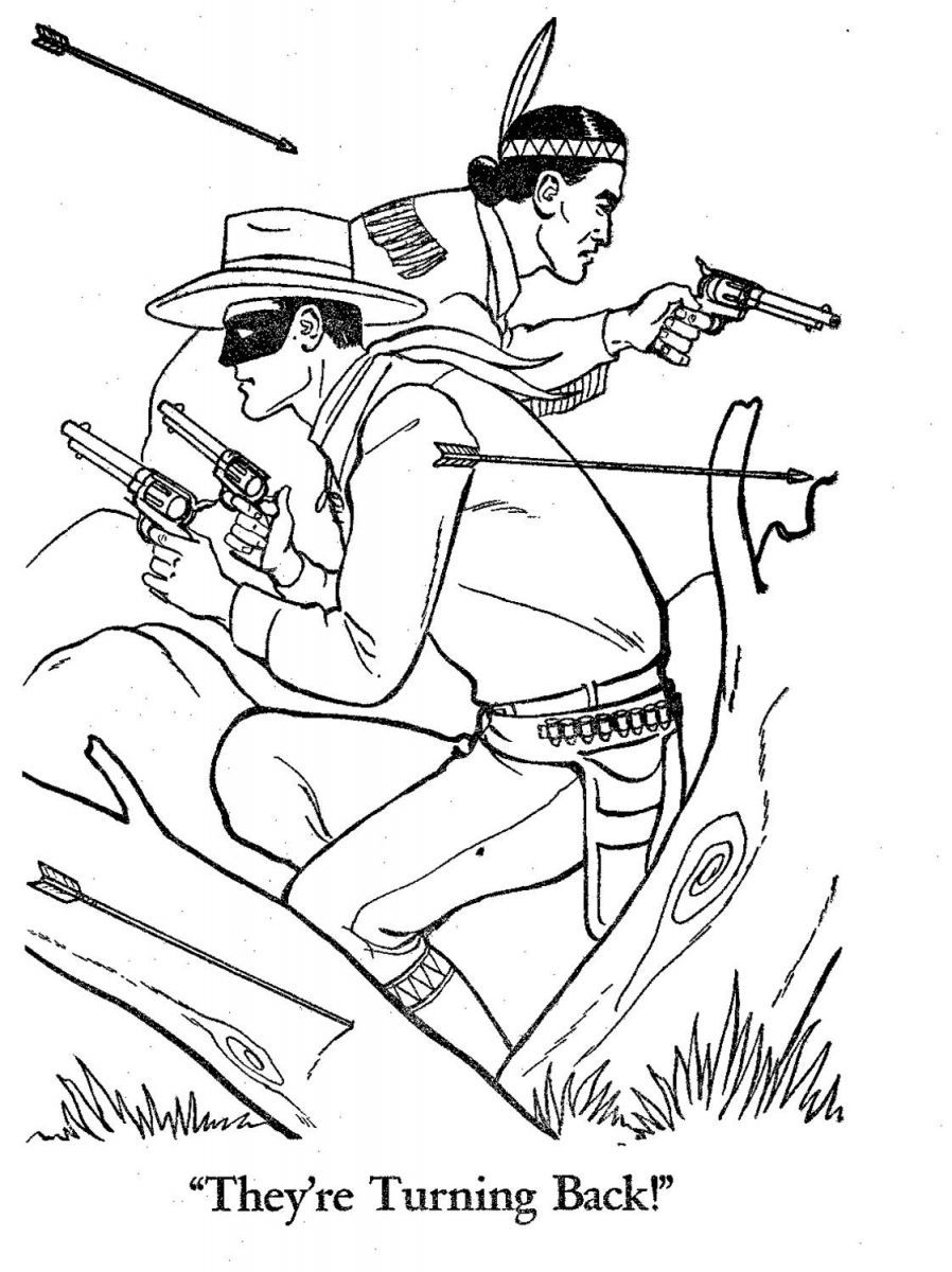 The lone ranger coloring pages see best of photos of the lone ranger film http