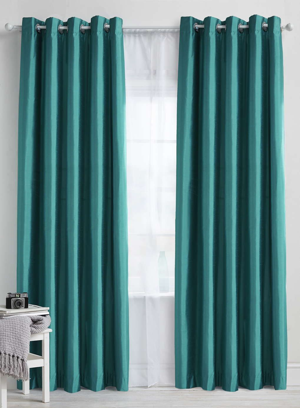 teal blackout curtains for bedroom