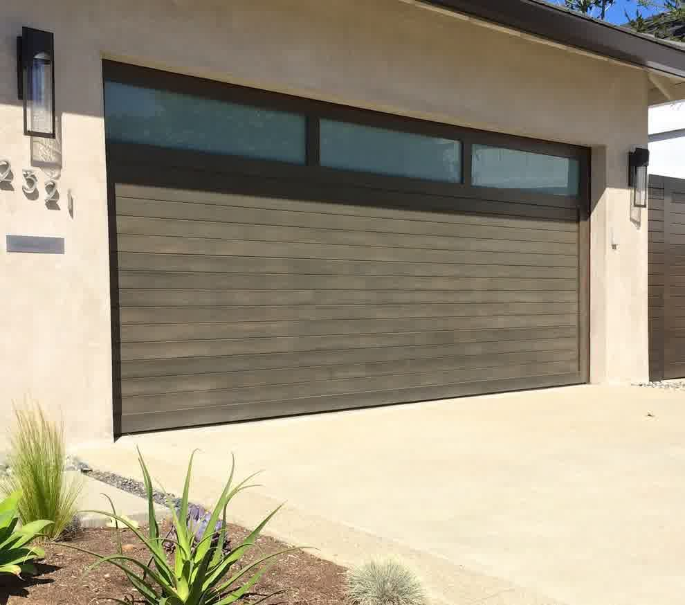 Resemblance of impressive mid century modern garage doors the perfect combination of aged and modern
