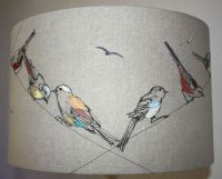 Lara Sparks Embroidery - Embroidered Lampshades, http ...