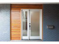 Mid Century Modern Glass Front Doors