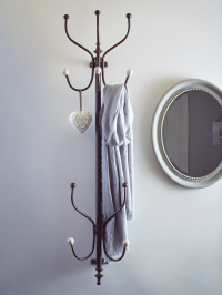 Wall Mounted Coat Rack | Hallway ideas | Pinterest | Wall ...
