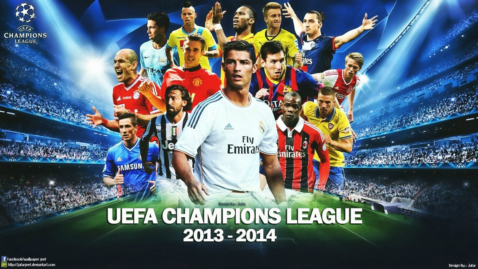 Cuadro Champions League 2014 Uefa Champions League 2014 Stuff To Buy Pinterest
