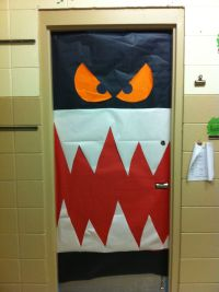 Halloween Classroom Door Decoration