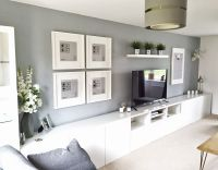 Ikea BEST, Living Room, Tv unit, Picture Frames Ribba ...