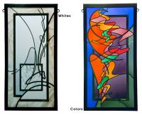 Contemporary Stained Glass Windows | Stained glass ideas ...