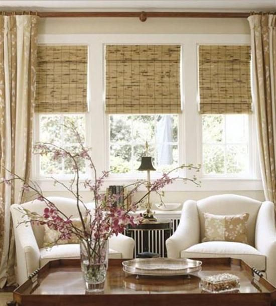 sears window treatments for a bay window Possible Window - sears curtains for living room