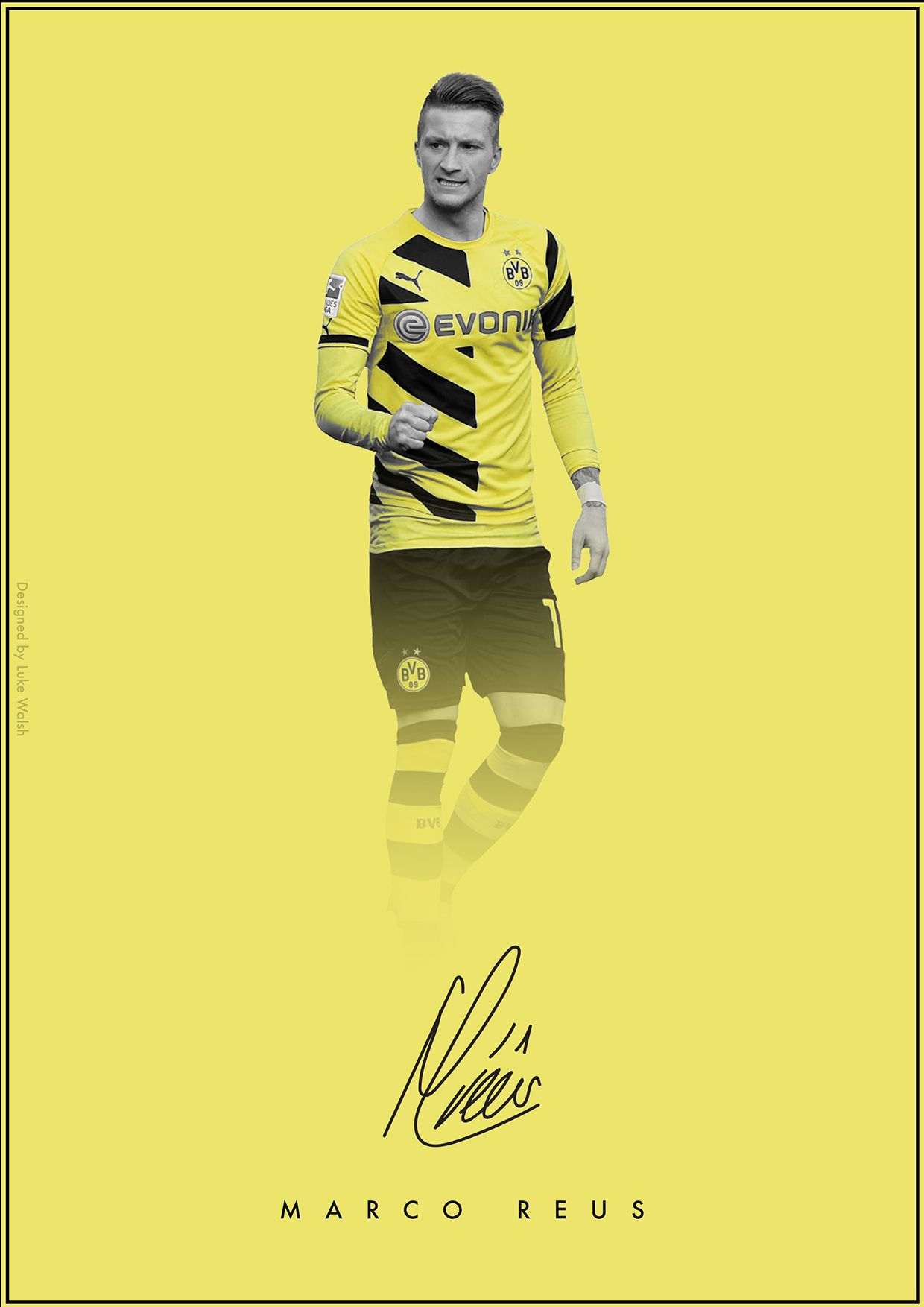 Dybala Soccer For Life Wallpaper Quotes The Signature Series On Behance Marco Reus Borussia