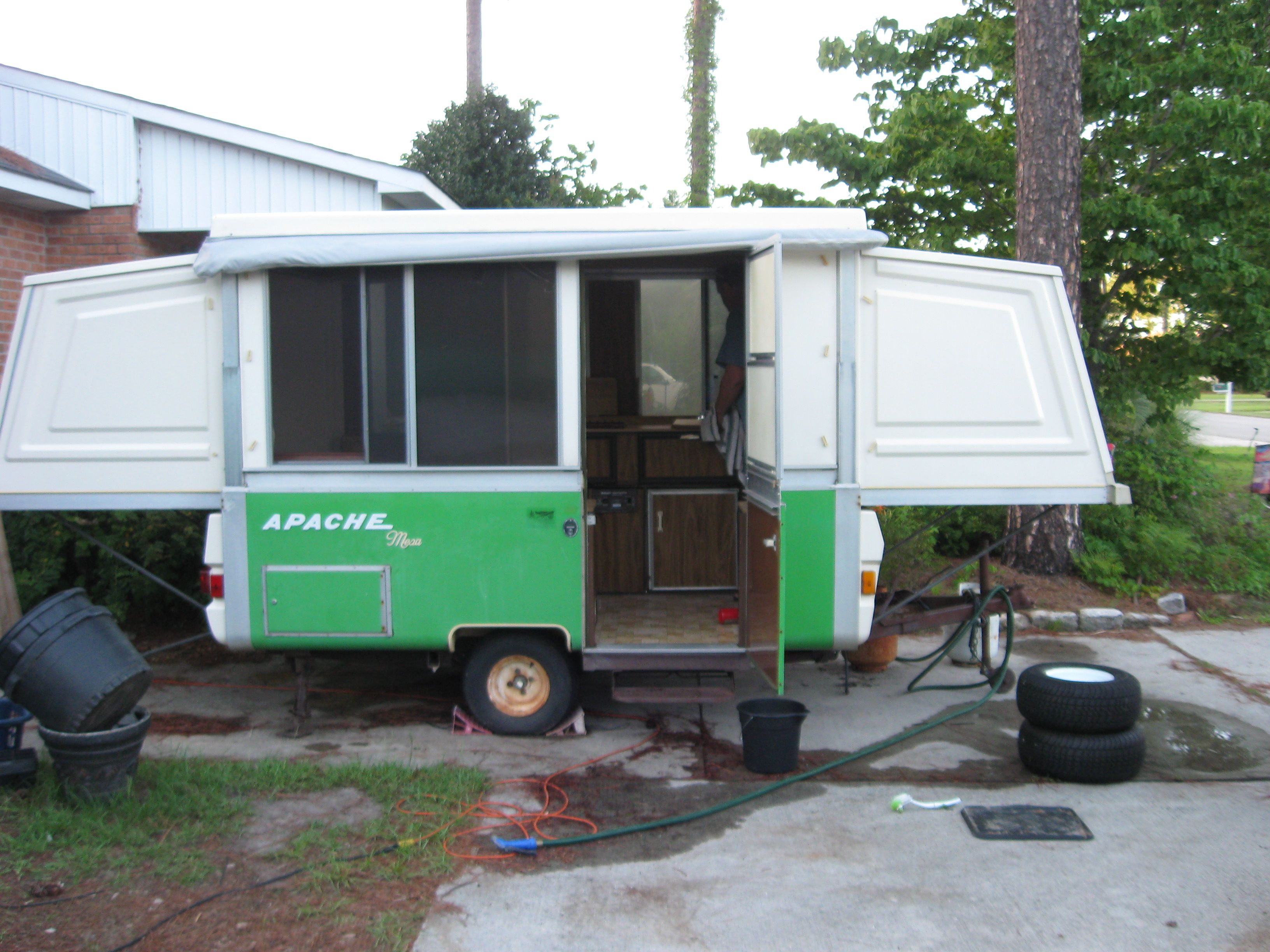 Mesa Camper Our 1977 Apache Mesa Camper Its Vintage And The Perfect