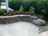 Retaining & Sitting Walls | Divine Landscaping, Inc ...