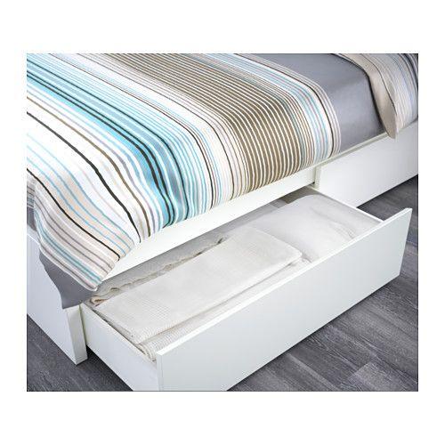 MALM Bettgestell hoch mit 2 Schubkästen - - - IKEA MO P19 mood - schlafzimmer mit malm bett 2