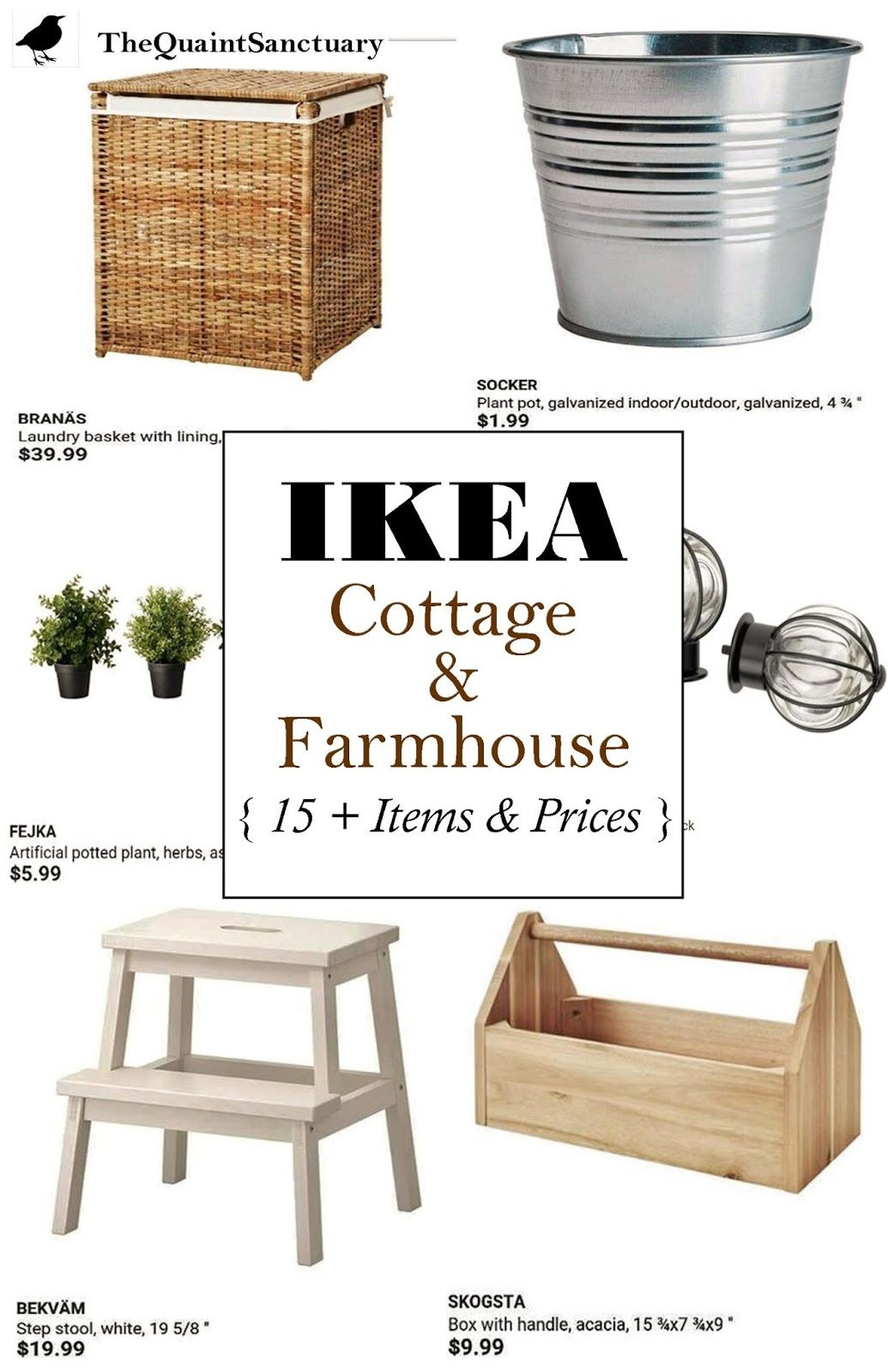 Cheap Farmhouse Sink Ikea The Quaint Sanctuary Ikea Guide To Farmhouse And Cottage